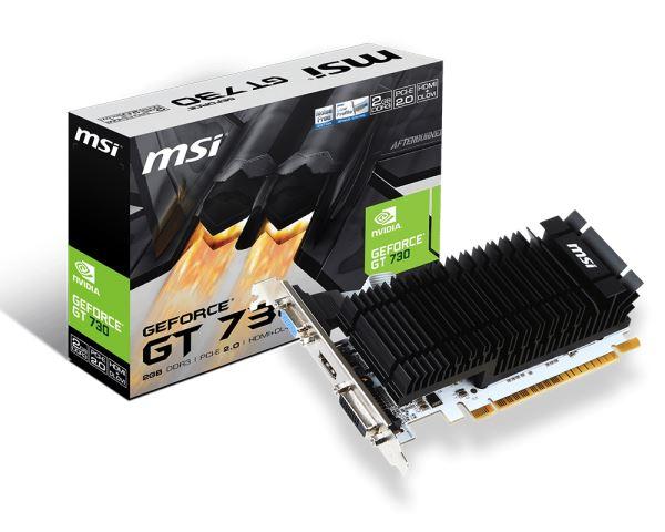 VGA PCIe MSI N730K-2GD3HLP