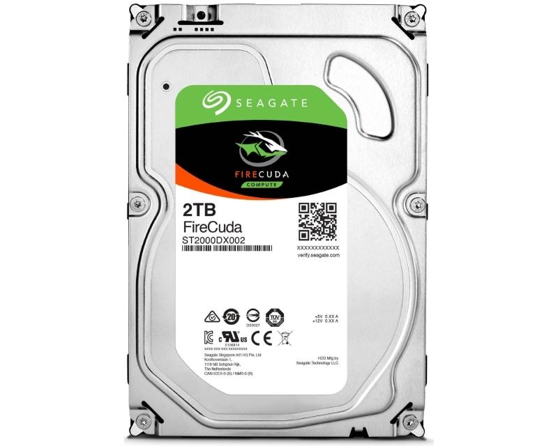 SEAGATE 2TB 3.5 SSHD SATA III MLC 8GB 64MB 7.200rpm ST2000DX002