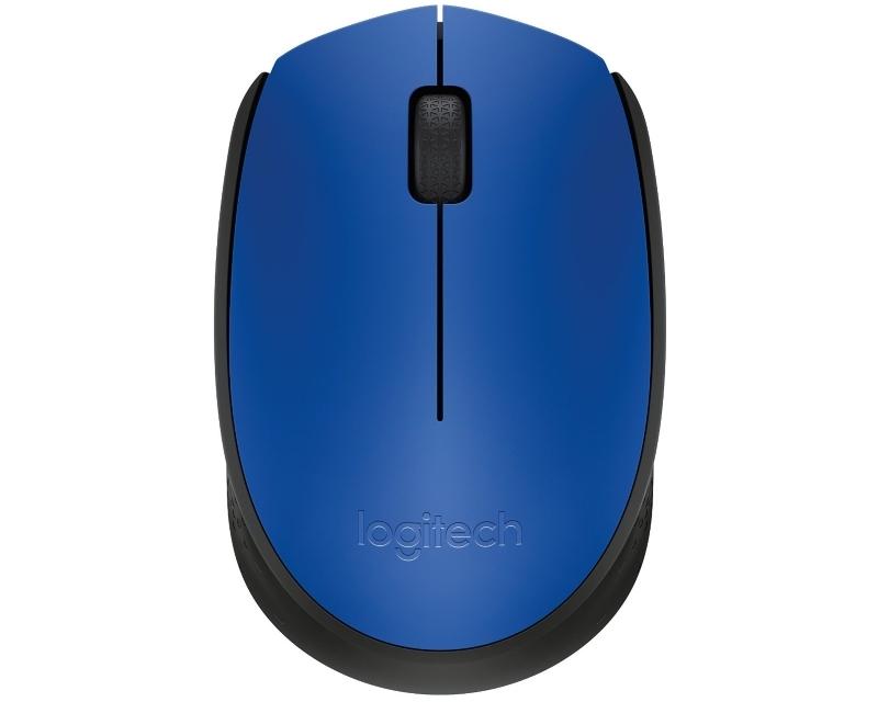 LOGITECH M171 Wireless plavi miš