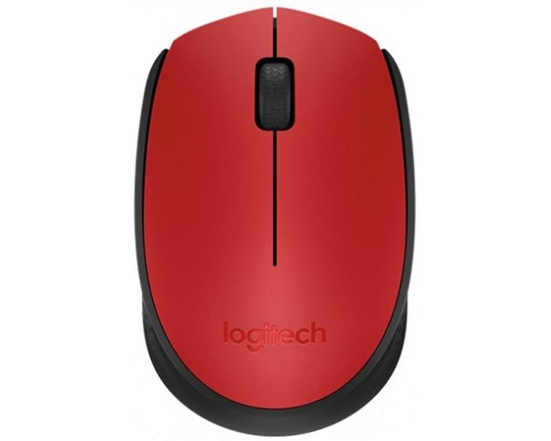 LOGITECH M171 Wireless crveni miš