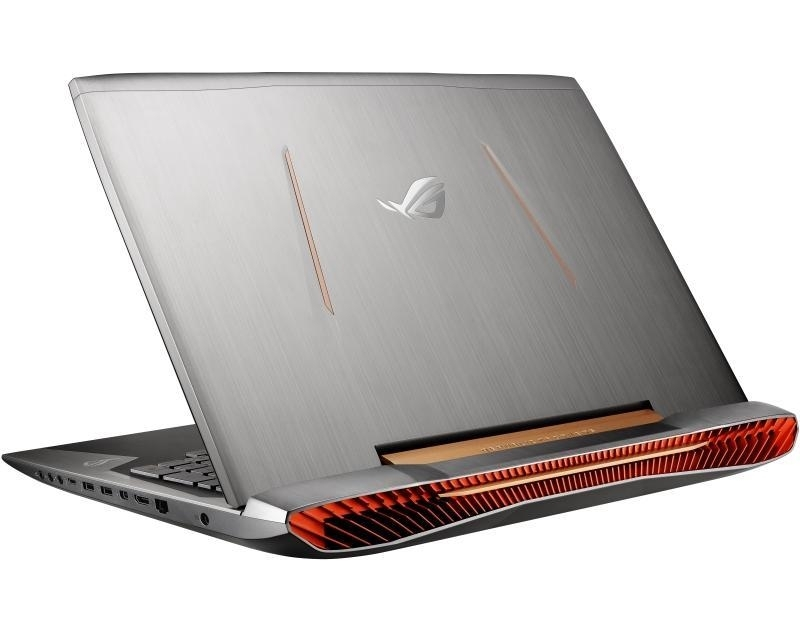ASUS ROG G752VM-GC059D 17.3 Full HD Intel Core i7-6700HQ 2.6 GHz (3.5 GHz) 16GB 1TB 2x 256GB SSD GeForce GTX 1060 6GB ODD srebrno-crni + Ranac