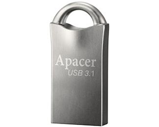 APACER 16GB AH158 USB 3.1 flash sivi