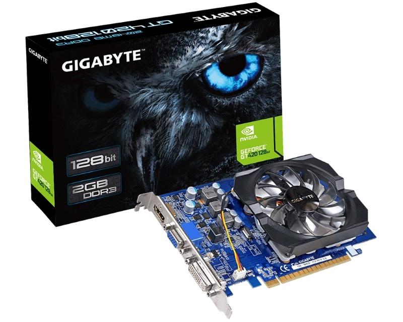 GIGABYTE nVidia GeForce GT 420 2GB 128bit GV-N420-2GI rev.3.0