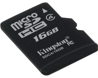 KINGSTON MicroSDHC 16GB class 4 SDC4/16GBSP