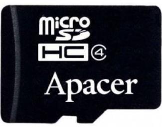 APACER MicroSDHC 16GB class 4 AP16GMCSH4-RA