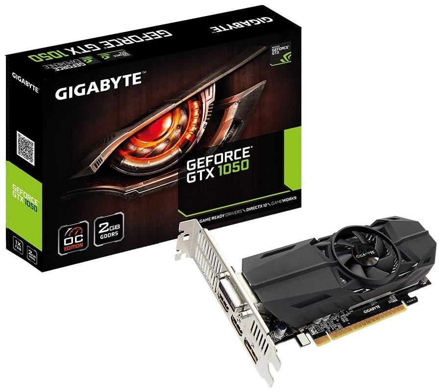 Gigabyte NVD GTX 1050 2GB DDR5 128bit GV-N1050OC-2GL