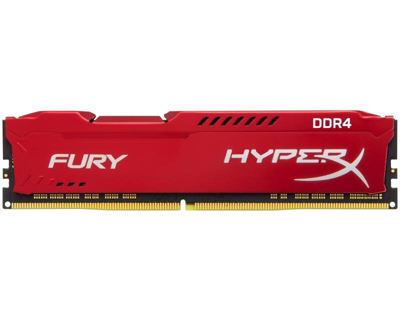 KINGSTON DIMM DDR4 8GB 2133MHz HX421C14FR2/8 HyperX Fury Red