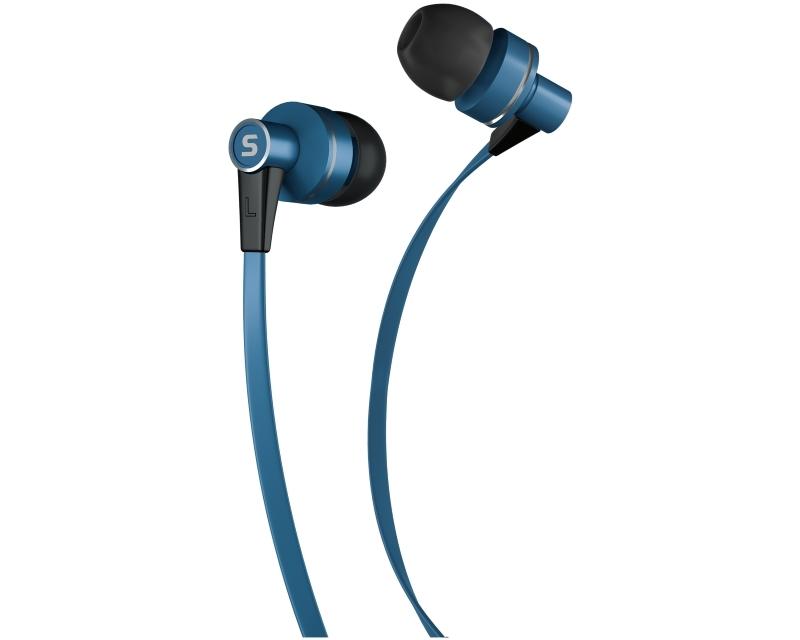 SENCOR SEP 300 slušalice sa mikrofonom plave