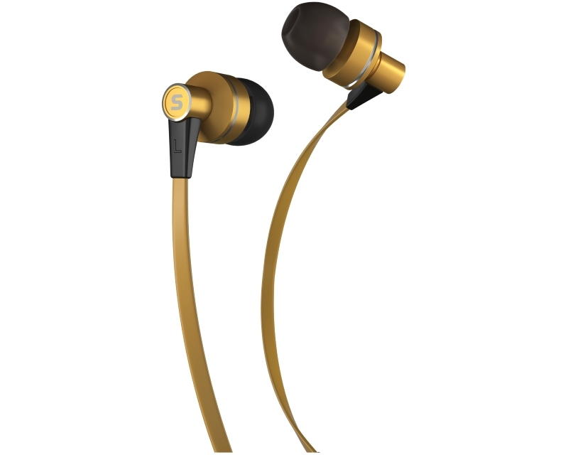 SENCOR SEP 300 slušalice sa mikrofonom zlatne