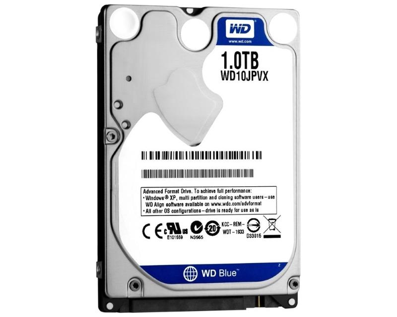 WD 1TB 2.5 SATA III 8MB 5.400rpm WD10JPVX Blue