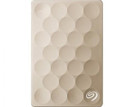 SEAGATE Backup Plus Ultra Slim 2TB 2.5 zlatni eksterni hard disk STEH2000201