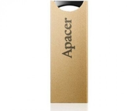 APACER 8GB AH133 USB 2.0 flash champagne zlatni