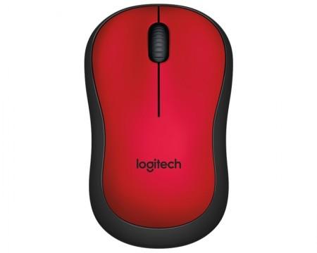LOGITECH M220 Silent Wireless crveni miš