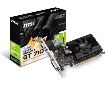 MSI nVidia GeForce GT 710 1GB 64bit GT 710 1GD3 LP