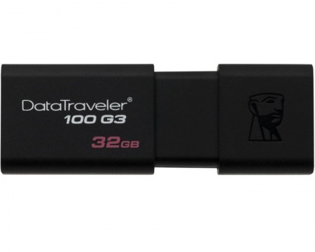 KINGSTON 32GB DataTraveler 100 Generation 3 USB 3.0 flash DT100G3/32GB