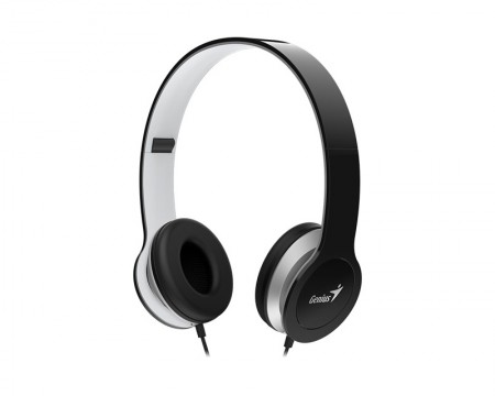 GENIUS HS-M430 crne slušalice sa mikrofonom