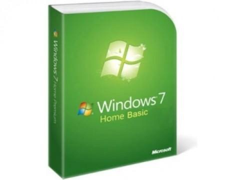 MICROSOFT Windows 7 Home Basic GGK 32bit SP1 Serbian Latin legalization DVD 5MC-00005