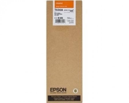 EPSON T636A UltraChrome HDR narandžasti 700ml kertridž