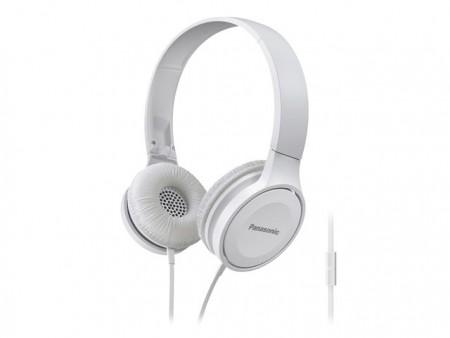 PANASONIC slušalice RP-HF100ME-W bele sa mikrofonom