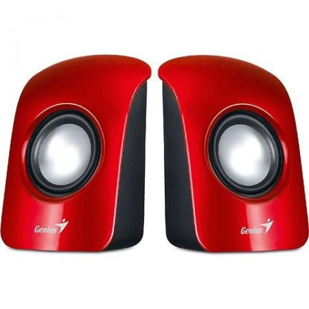 ZVU310NICI Genius SP-U115, USB Red