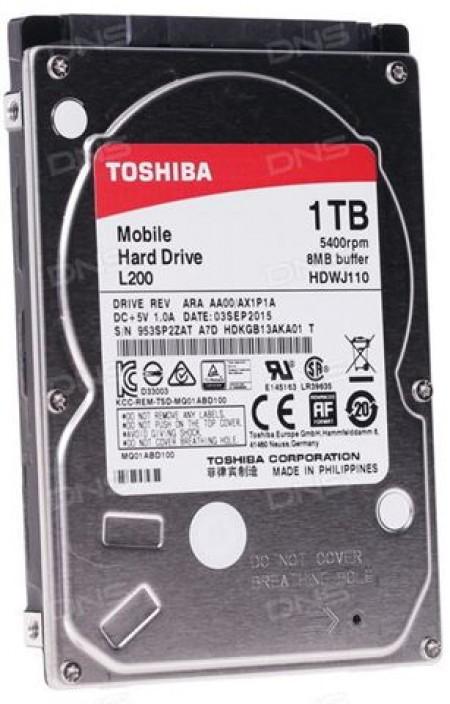 Hard Disk Toshiba L200 1TB 2.5