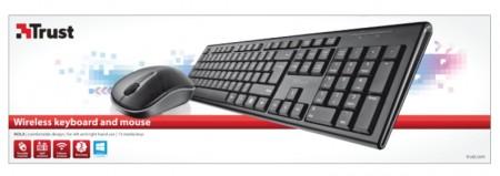 Trust Nola bezicni tastatura i mis crni