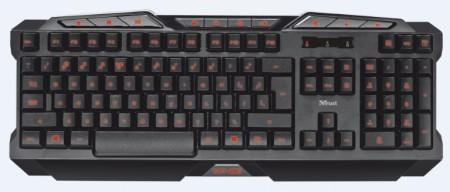 Trust Gaming GXT 280 LED Illuminated tastatura crna
