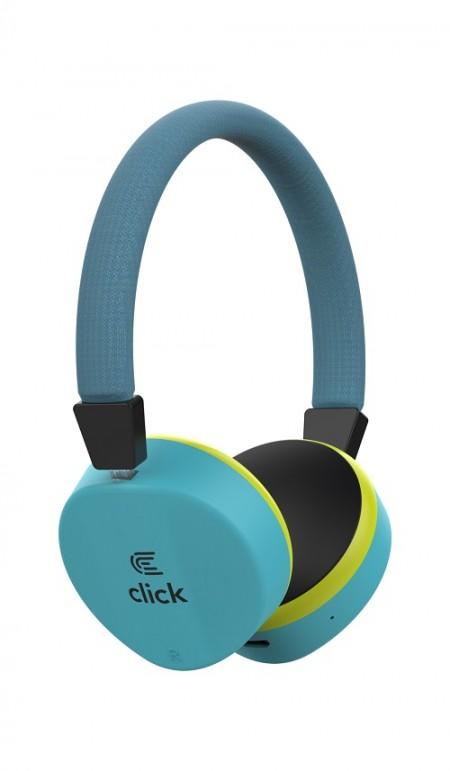 Click BH-L2-BL Slušalice bluetooth, sa mikrofonom, plave