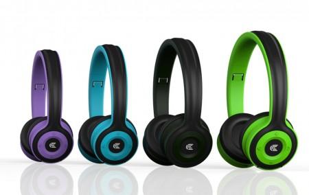 Click BH-L3-GR Slušalice bluetooth, sa mikrofonom, zelene