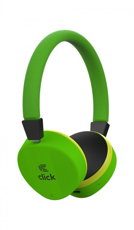 Click BH-L2-GR Slušalice bluetooth, sa mikrofonom, zelene