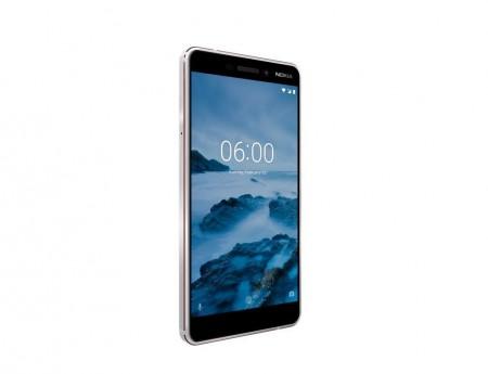 Nokia 6.1 DS White Iron Dual Sim' ( '11PL2W01A04' )