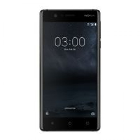 Nokia 3 DS Matte Black Dual Sim