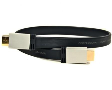 FAST ASIA Kabl HDMI 2.0 M/M 1.8m flat crni