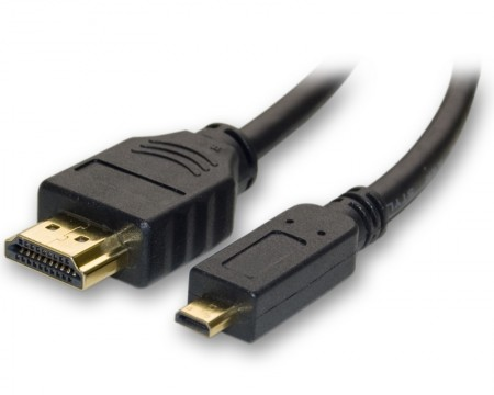 FAST ASIA Kabl HDMI (M) - HDMI Micro (M) 1.5m feritno jezgro crni