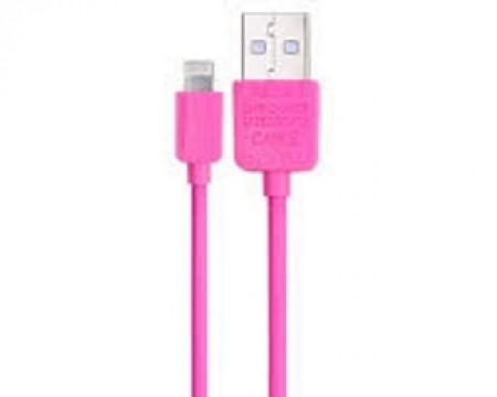 REMAX Data kabl full speed za iPhone 7/6/5 2m pink