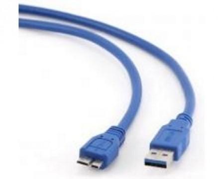 FAST ASIA Kabl USB 3.0 - USB 3.0 Micro M/M 1.8m plavi