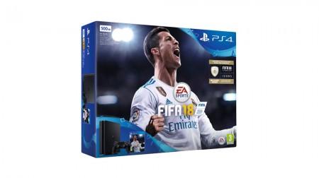 PlayStation PS4 500GB + FIFA 18 (029125)