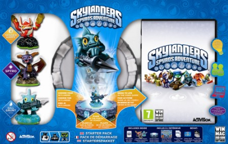 PC Skylanders Starter Pack (Game + Portal of Power + Trigger Happy + Spyro + Gill Grunt) (013996)