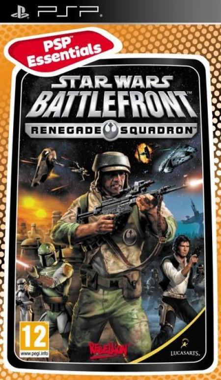 PSP Star Wars Battlefront: Renegade Squadron Essentials (012576)