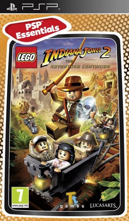 PSP LEGO Indiana Jones 2 The Adventure Continues Essentials (025605)