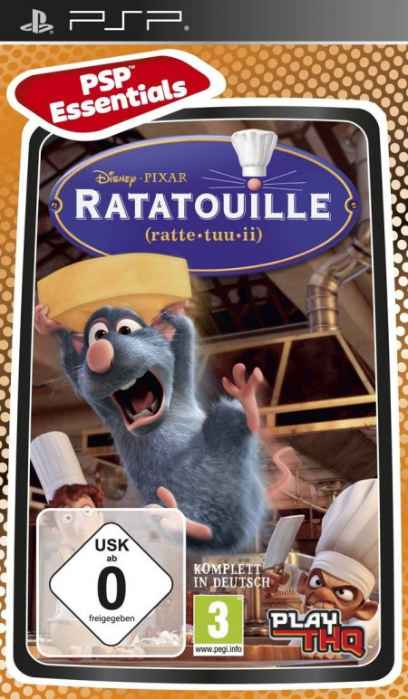 PSP Ratatouille Essentials (017431)