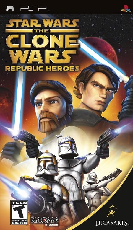 PSP Clone Wars Republic Heroes Essentials (023102)