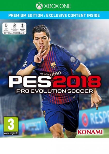 XBOXONE Pro Evolution Soccer 2018 Premium Edition (028404)