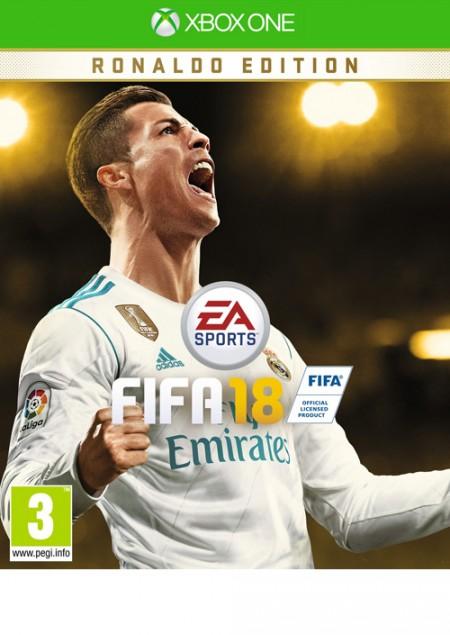 XBOXONE FIFA 18 Deluxe (Ronaldo Edition) (028395)