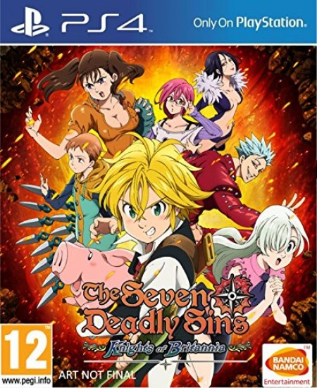 PS4 The Seven Deadly Sins (029733)