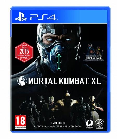 PS4 Mortal Kombat XL (025388)