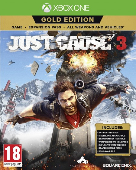 XBOXONE Just Cause 3 Gold Edition (027690)