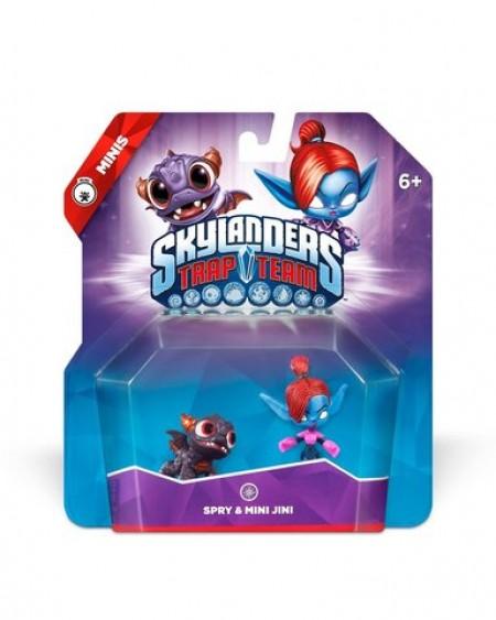 Skylanders Trap Team - Minis Spry & Mini Jini (020983)
