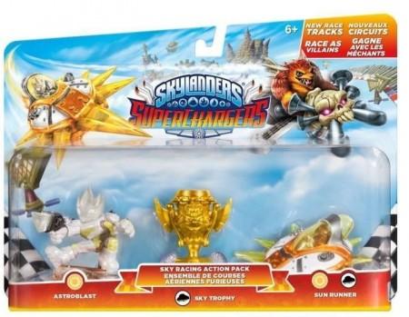 Skylanders SuperChargers Racing Sky Pack (Astroblast + Vehicle Sun Runner + Villain Sea Trophy) (024418)