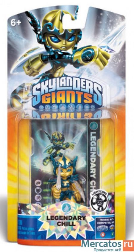 Skylanders G Core Light Character Pack - Legendary Chill (018962)